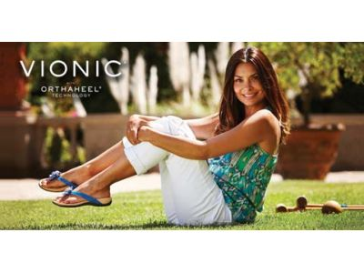 Flip Out Your Flip-Flops and Foot Pain for Vionic Sandals